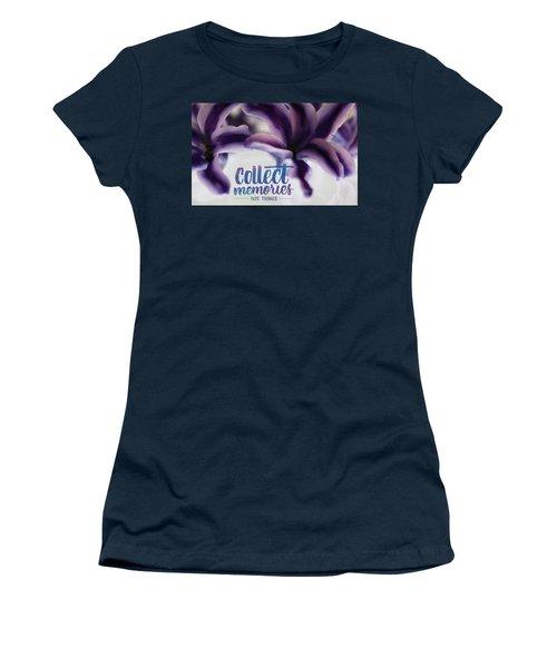 Memories Women's T-Shirt (Junior Cut) by Bobby Villapando
