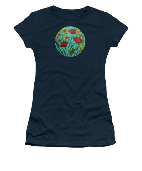 Memories Of The Meadow Women's T-Shirt (Junior Cut) by Mary Wolf