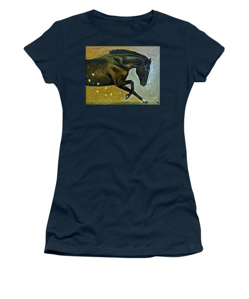 Meteor Shower Women's T-Shirt (Athletic Fit)