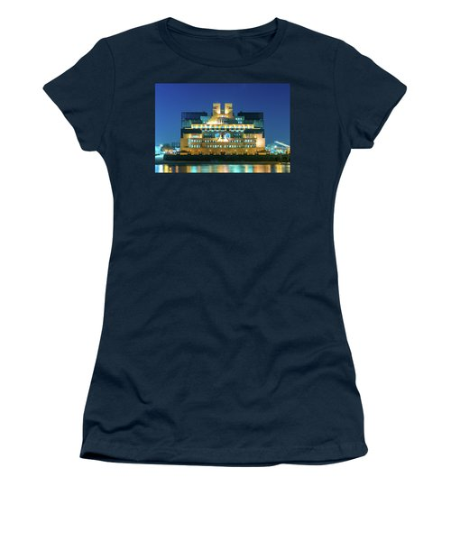 Women's T-Shirt featuring the photograph Mi6 by Stewart Marsden