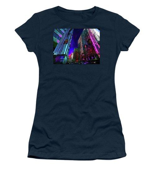 Michigan Avenue, Chicago Women's T-Shirt