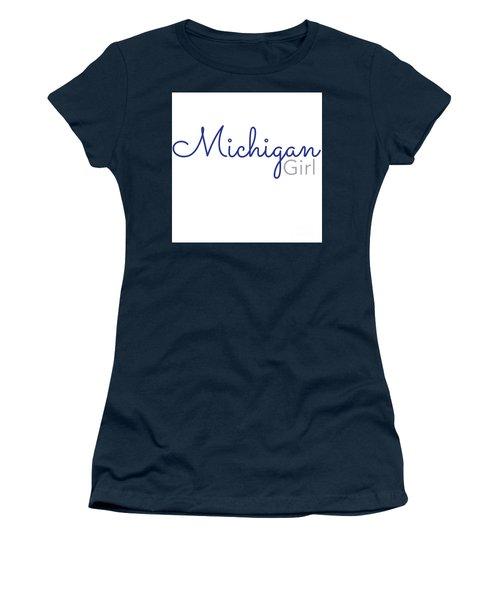 Michigan Girl Women's T-Shirt