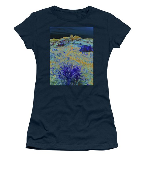 Women's T-Shirt featuring the photograph Midnight At The Burning Coal Vein by Cris Fulton