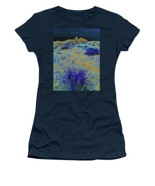 Midnight At The Burning Coal Vein Women's T-Shirt