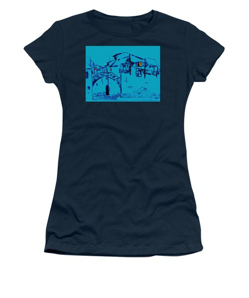 Midnight In Tuscany Women's T-Shirt (Athletic Fit)
