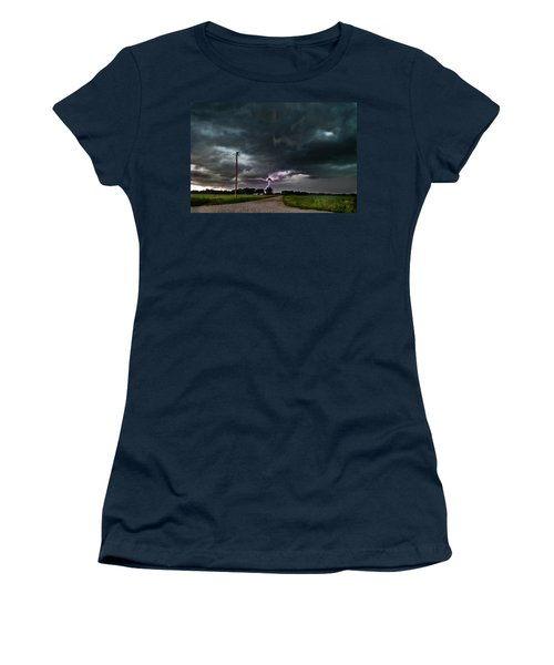 Mikey's Lightning  Women's T-Shirt (Athletic Fit)