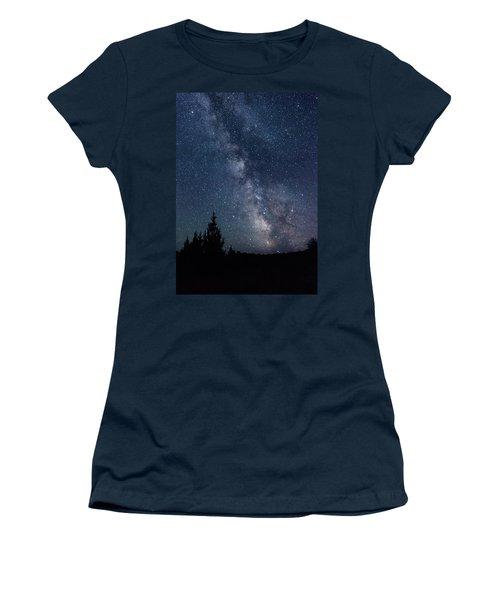 Milky Way At Eastern Oregon Wilderness Women's T-Shirt