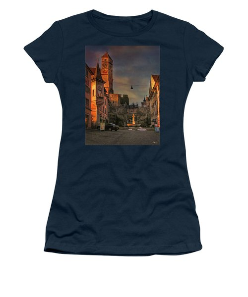 Women's T-Shirt (Athletic Fit) featuring the photograph Main Square by Hanny Heim