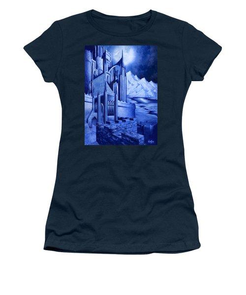 Minas Tirith Women's T-Shirt (Junior Cut) by Curtiss Shaffer