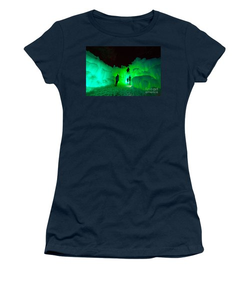 Ice Castles Of Minnesota Women's T-Shirt (Athletic Fit)