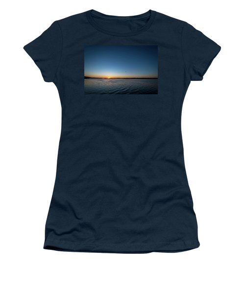 Mississippi River Sunrise Women's T-Shirt (Athletic Fit)