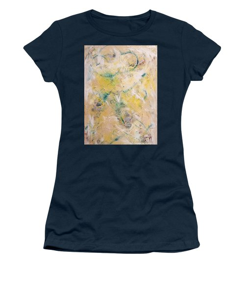 Mixed-media Free Fall Women's T-Shirt (Junior Cut) by Gallery Messina
