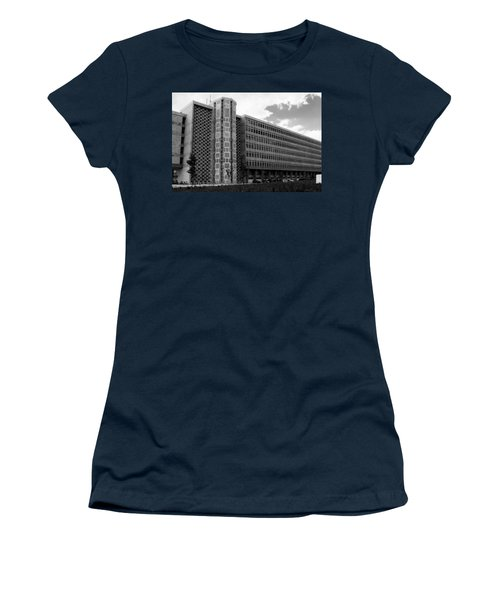 Modern Lisbon - The Palace Of Justice Women's T-Shirt (Athletic Fit)