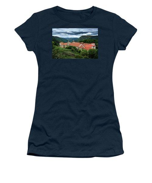 Monastery Of Santo Estevo De Ribas Del Sil Women's T-Shirt