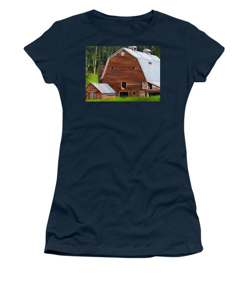 Mooney's Barn Women's T-Shirt (Athletic Fit)