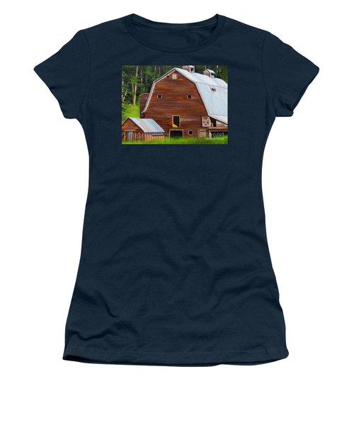 Mooney's Barn Women's T-Shirt (Athletic Fit)