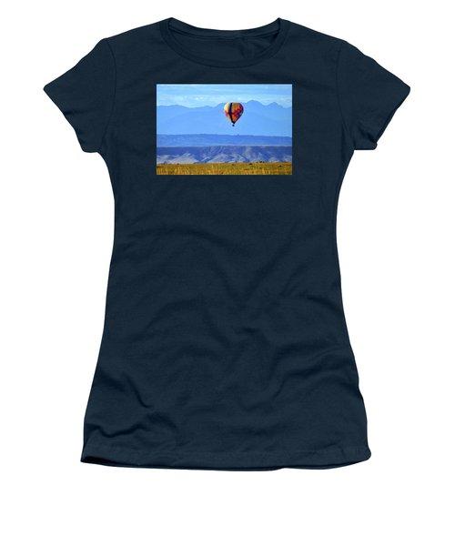 Morning In Montana Women's T-Shirt (Junior Cut) by C Sitton