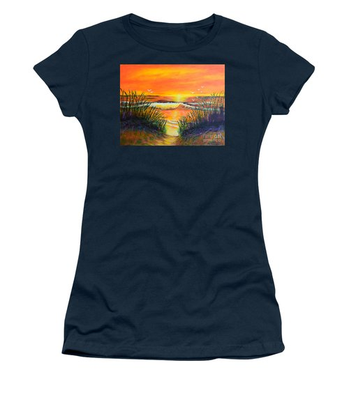 Morning Sun Women's T-Shirt (Athletic Fit)