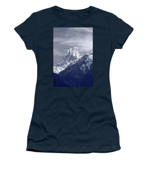 Mount Machapuchare, The Himalayas, Nepal Women's T-Shirt