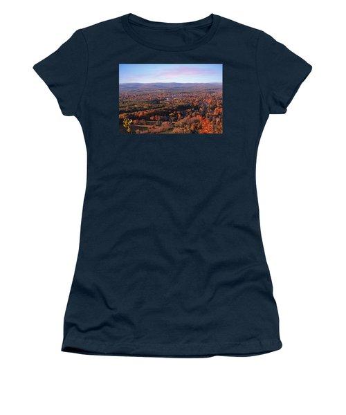 Mount Tom View, Easthampton, Ma Women's T-Shirt