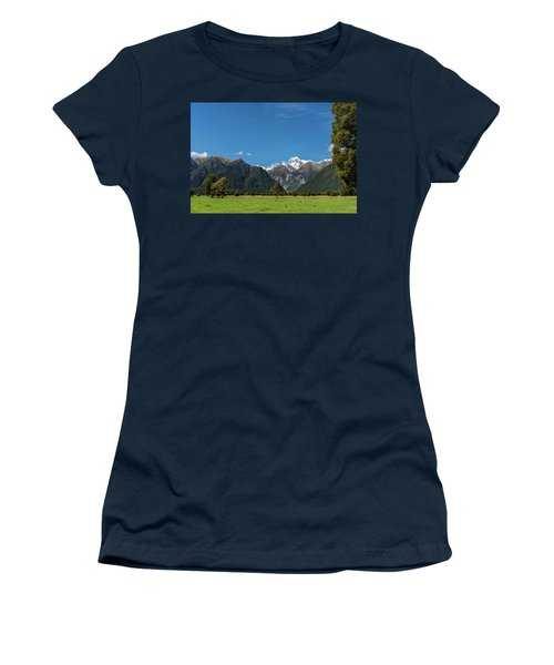 Women's T-Shirt (Athletic Fit) featuring the photograph Mountain Landscape by Gary Eason