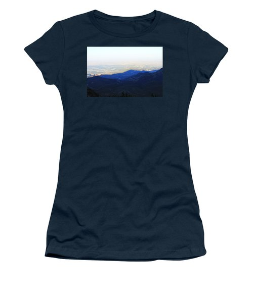 Women's T-Shirt (Junior Cut) featuring the photograph Mountain Shadow by Christin Brodie