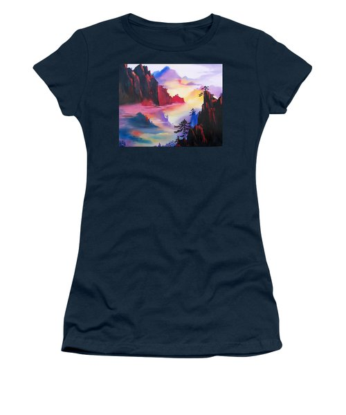 Mountain Top Sunrise Women's T-Shirt