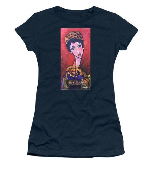 Ms. Bimba Fashionable Seamstress Women's T-Shirt
