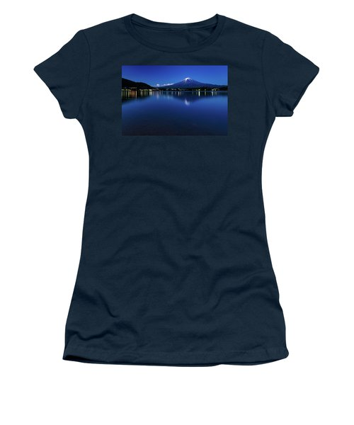 Mt Fuji - Blue Hour Women's T-Shirt