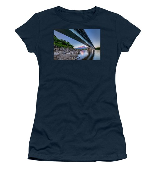 Mt Fuji - Under The Bridge Women's T-Shirt