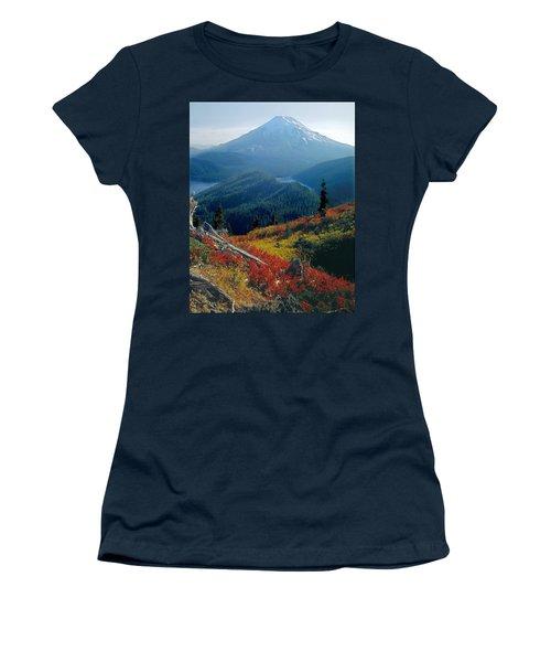 1m4903-mt. St. Helens 1975  Women's T-Shirt