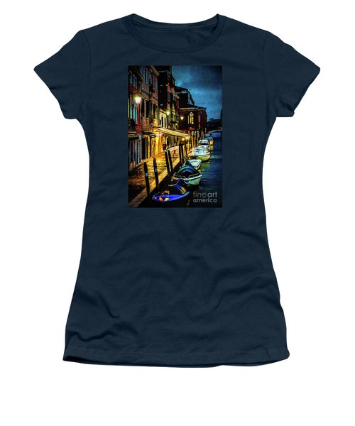 Murano At Night. Women's T-Shirt