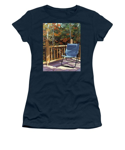 My Favorite Spot Women's T-Shirt (Athletic Fit)