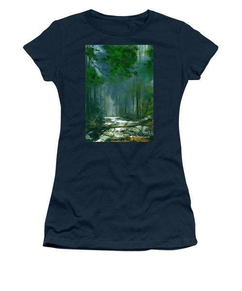My Secret Place II Women's T-Shirt (Junior Cut) by Michael Swanson