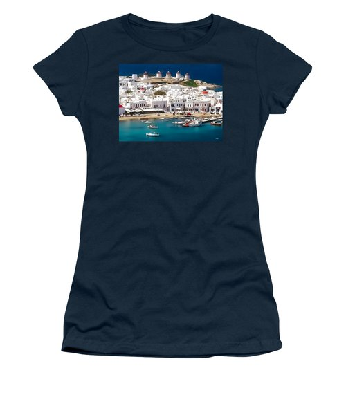 Mykonos Women's T-Shirt
