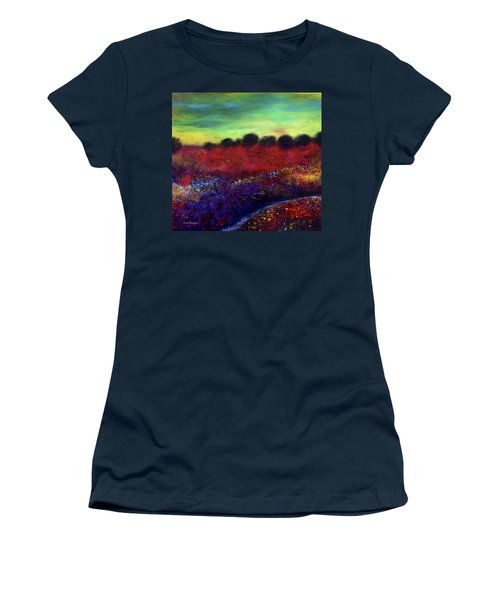 Natures Bouquet Women's T-Shirt (Junior Cut) by Dick Bourgault