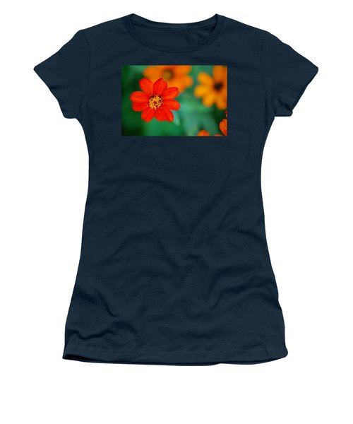 Women's T-Shirt (Junior Cut) featuring the photograph Nature's Glow by Debbie Karnes