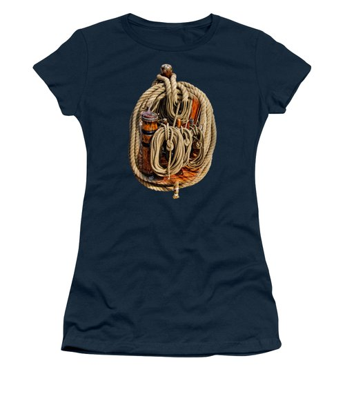 Nautical Knots 17 Oil Women's T-Shirt