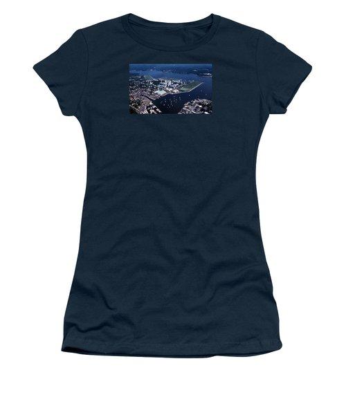 Naval Academy Women's T-Shirt (Junior Cut) by Skip Willits