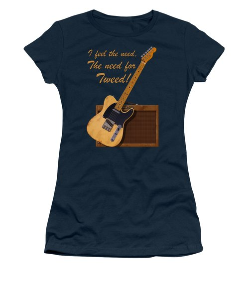 Need For Tweed Tele T Shirt Women's T-Shirt