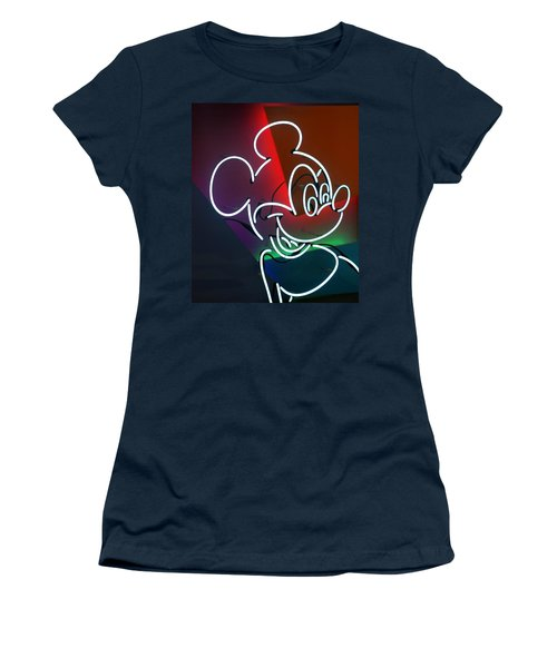 Neon Mickey Women's T-Shirt