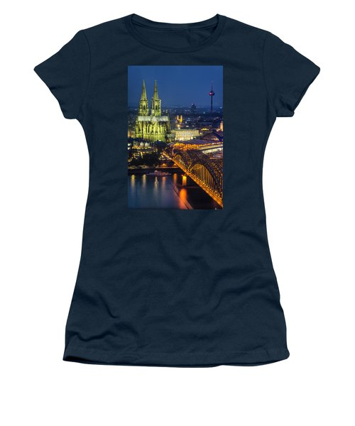 Night Falls Upon Cologne 1 Women's T-Shirt