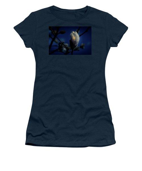 Women's T-Shirt featuring the photograph Night Lights by Allin Sorenson
