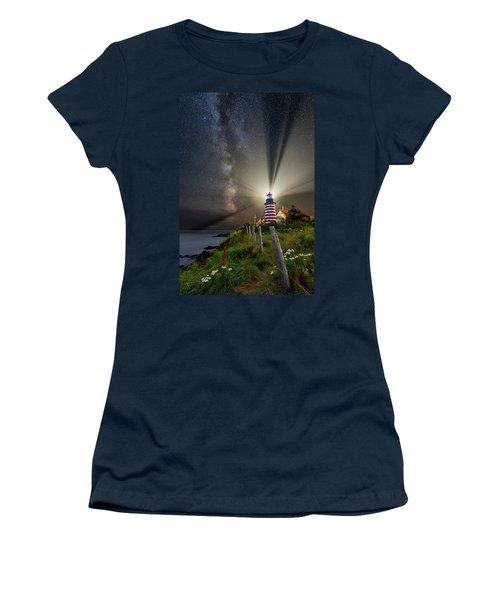 Night Over West Quoddy Women's T-Shirt