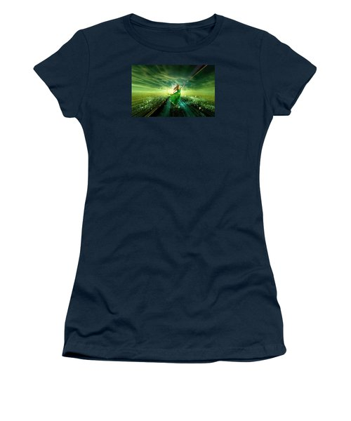 Nymph Of July Women's T-Shirt (Athletic Fit)
