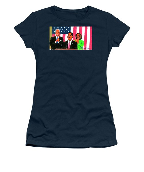 Obama's State Of The Union '10 Women's T-Shirt (Athletic Fit)