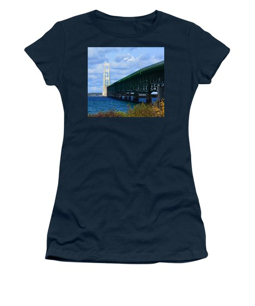 October At The Straits Of Mackinac Women's T-Shirt (Athletic Fit)