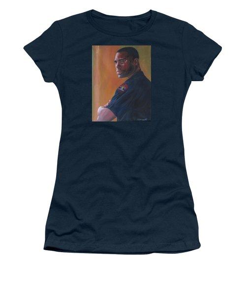 Officer Women's T-Shirt (Junior Cut) by Connie Schaertl