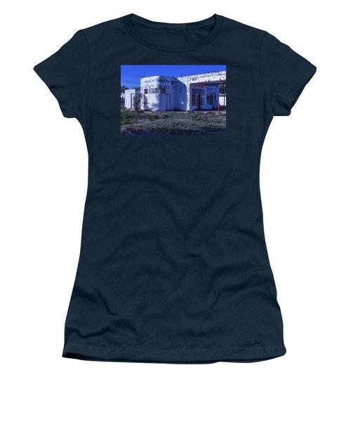 Old Run Down Gas Station Women's T-Shirt