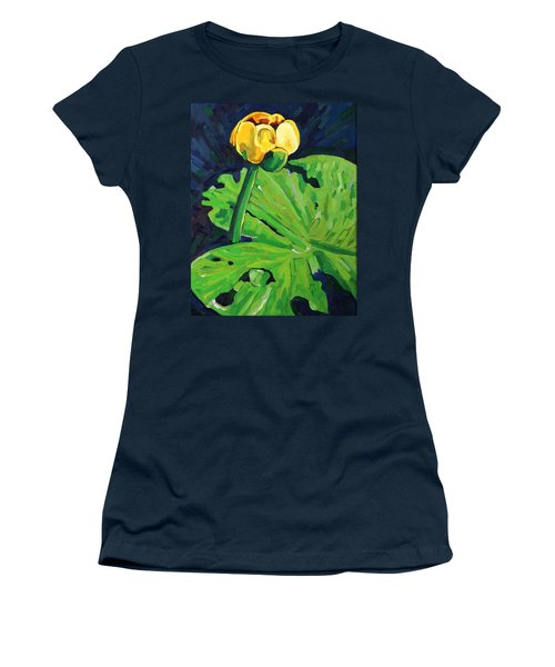 One Yellow Lily Women's T-Shirt (Athletic Fit)